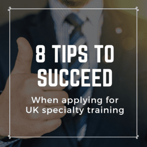 How specialty training (residency) works in the UK: A